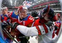 Россия победила Канаду со счетом 2:0