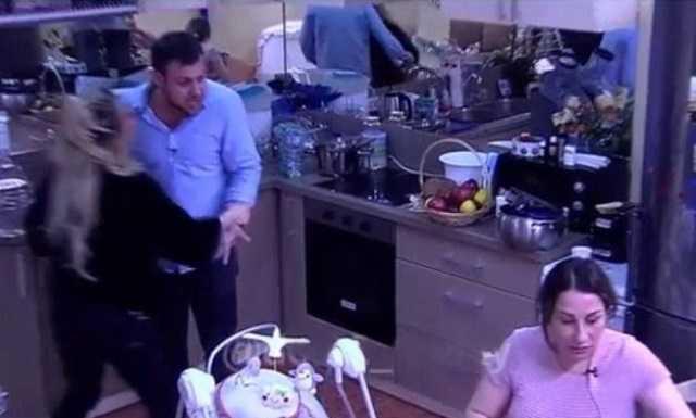Валера Блюменкранц и Марина Тристановна устроили драку