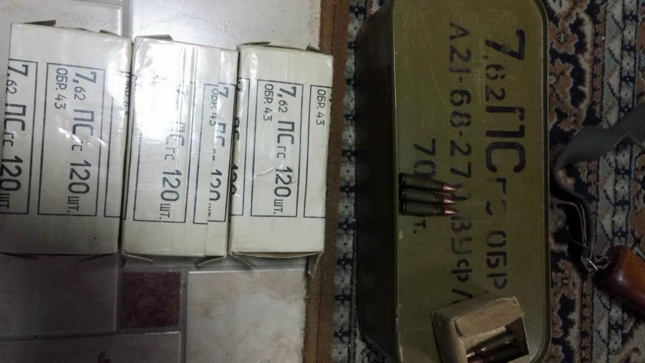В Оренбурге сотрудники Росгвардии изъяли незаконно хранящиеся боеприпасы