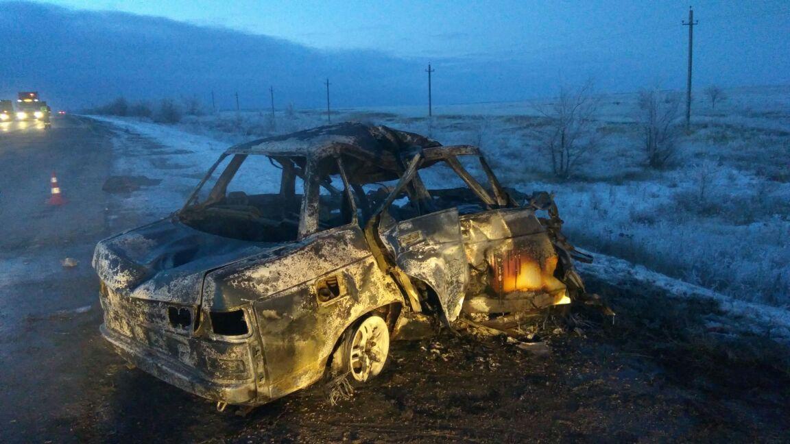 ВБеляевском районе вДТП погибли 3 человека