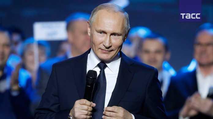 Владимир Путин объявил о своем решении баллотироваться в президенты