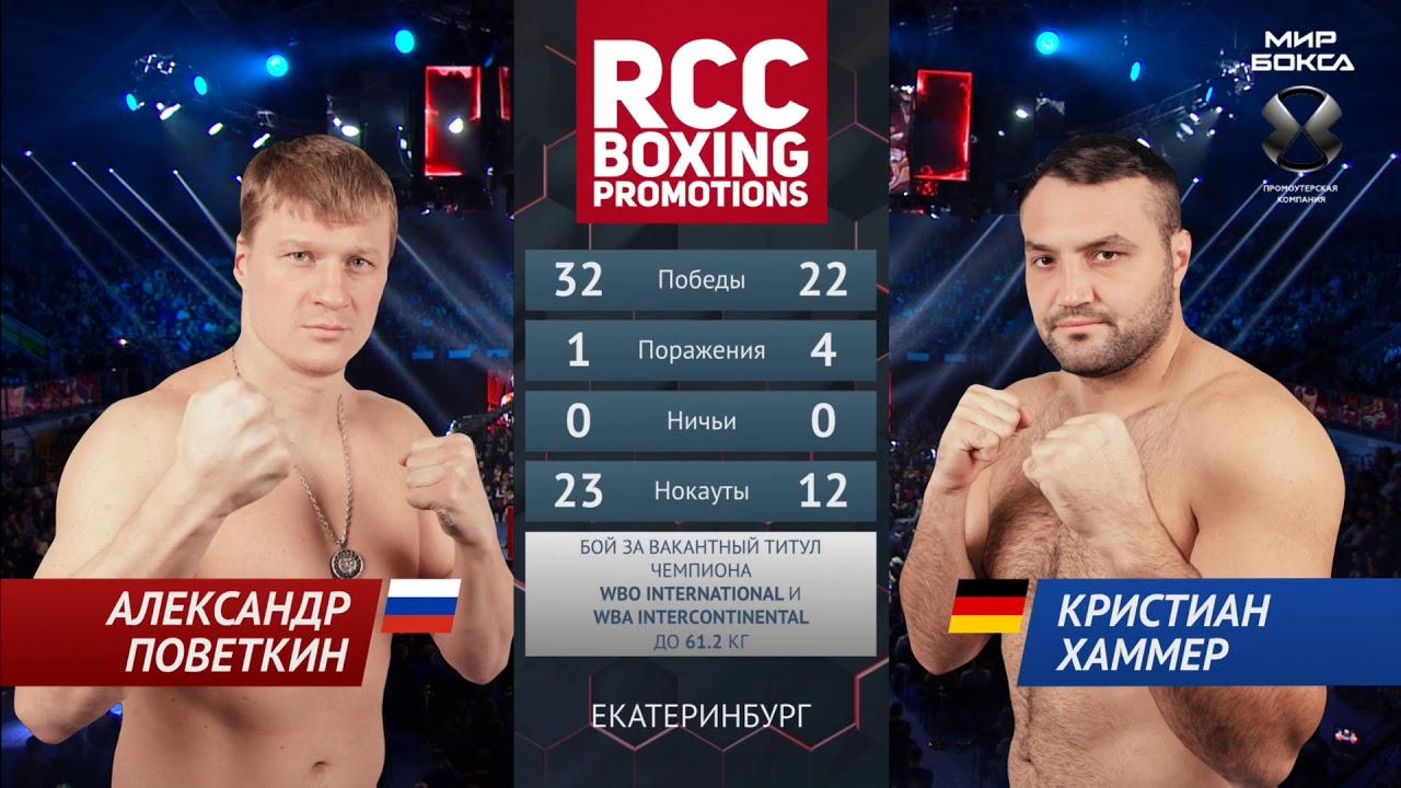 Поветкин и Стиверн разыграют временный титул WBC