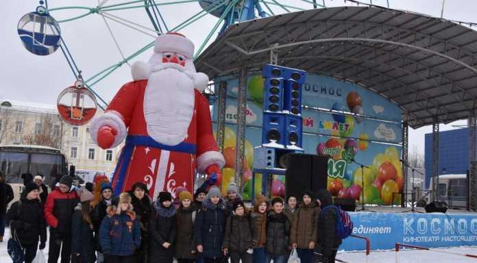 В Оренбурге торжественно открыли главную детскую елку