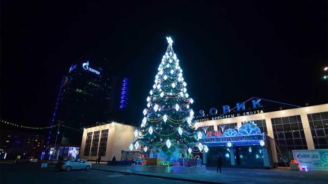 В Оренбурге подведены итоги конкурса на лучшее новогоднее оформление