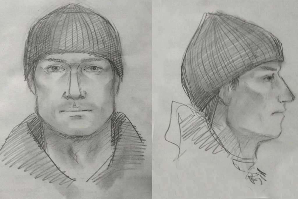 Фоторобот подозреваемого в убийстве бизнесмена и его сына 17 января 2018 года в Оренбурге