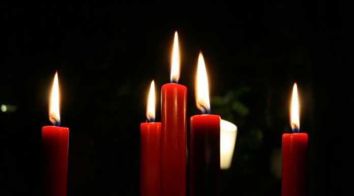 Рождество свечи