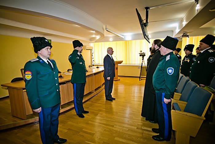 Юрий Берг принял участие в совете атаманов Первого отдела ОКВ