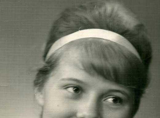 Людмила Сенчина в молодости
