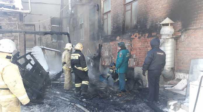 В Оренбурге сгорела часть бара «Шерлок Холмс»