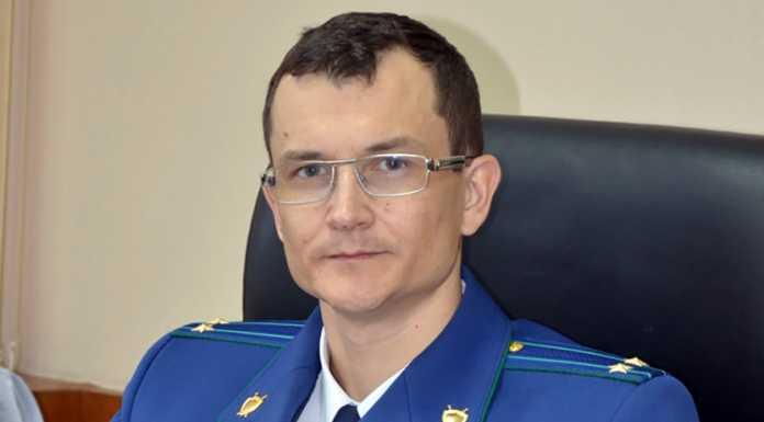Заместитель прокурора Оренбургской области Юрий Рываев