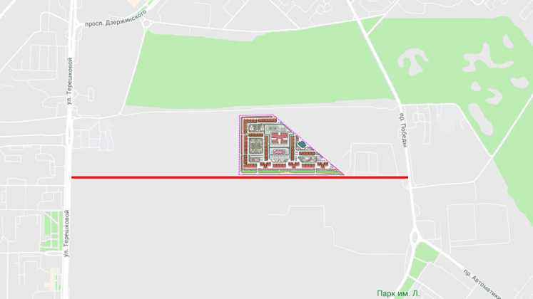 В районе ЖК «Времена года» появится новый жилой квартал и дорога