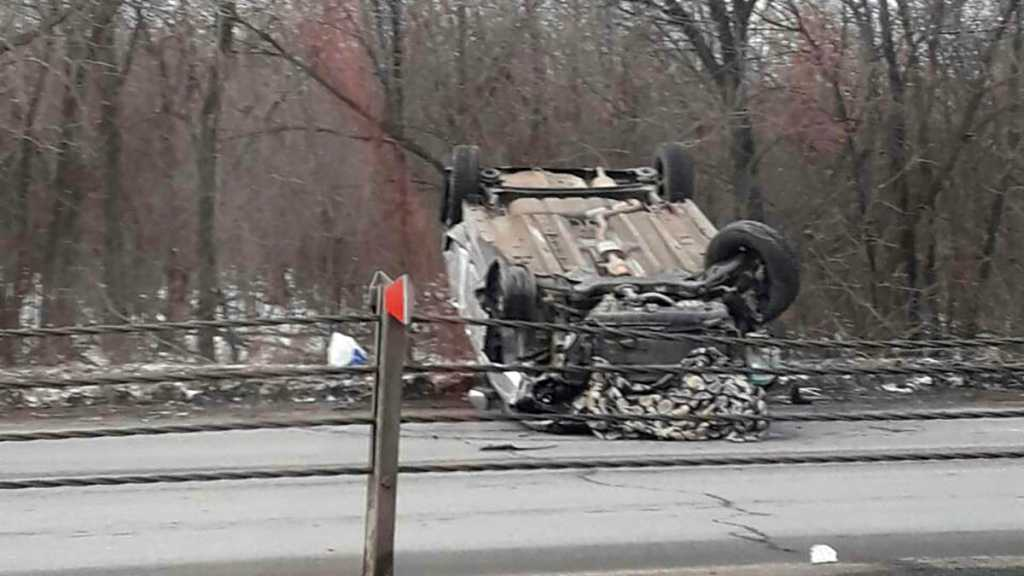 На Загородном шоссе столкнулись несколько автомобилей. Есть пострадавшие