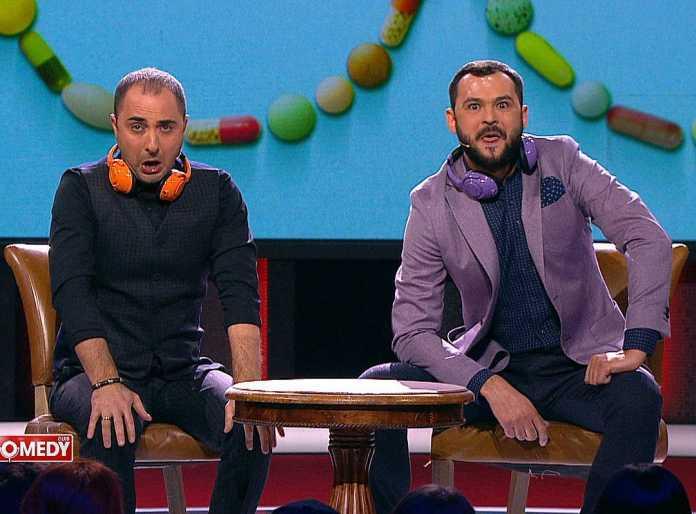 Демис Карибидис и Андрей Скороход