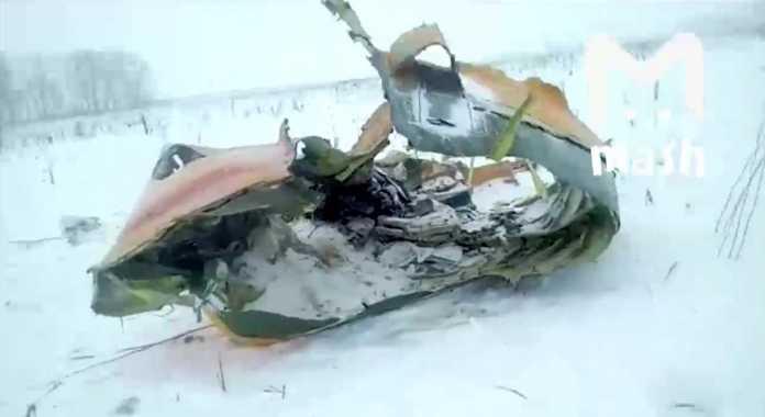 Крушение самолета Ан-148: самолёт начал разваливаться в воздухе