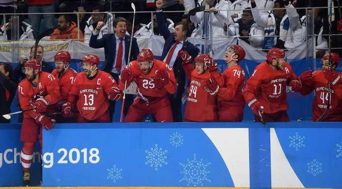 Сборная России впервые стала Олимпийским чемпионом по хоккею