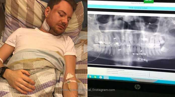 Избитый Андрей Ширман (Dj Smash) в больнице