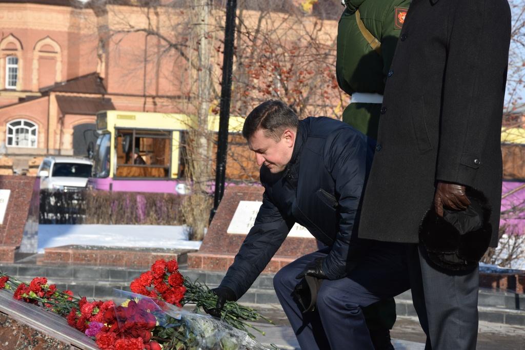 В Оренбурге почтили память воинов-интернационалистов