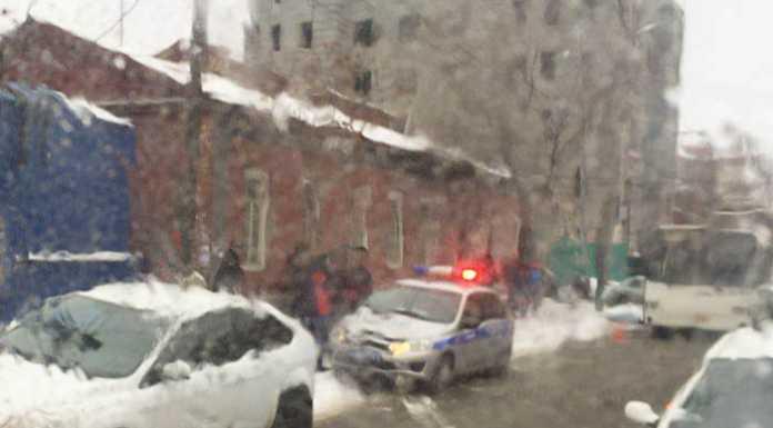 В центре Оренбурга автобус насмерть сбил пешехода