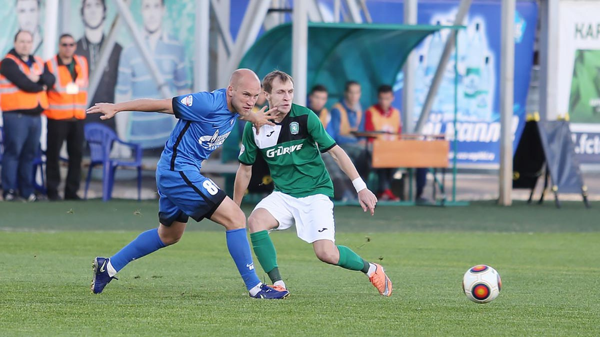 Футбол: «Оренбург» — «Томь»
