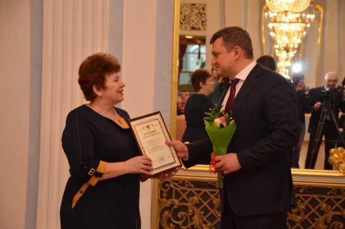 В Оренбурге поздравили работников культуры