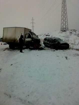 Volvo и ГАЗель столкнулись в Орске