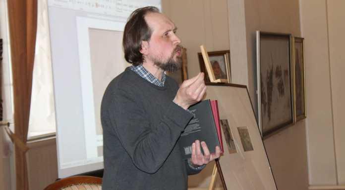 Новую книгу – литературное наследие художника Сергея Калмыкова представили оренбуржцам