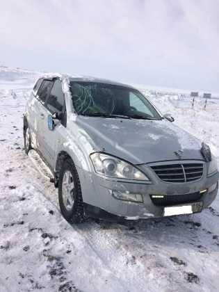 Водитель SsangYong Kyron съехал в кювет, пассажир оказался на больничной койке