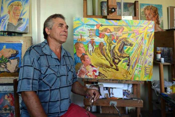 выставка картин Александра Сукманова