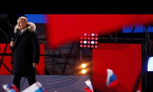 Владимир Путин: «Нас ждёт успех!»