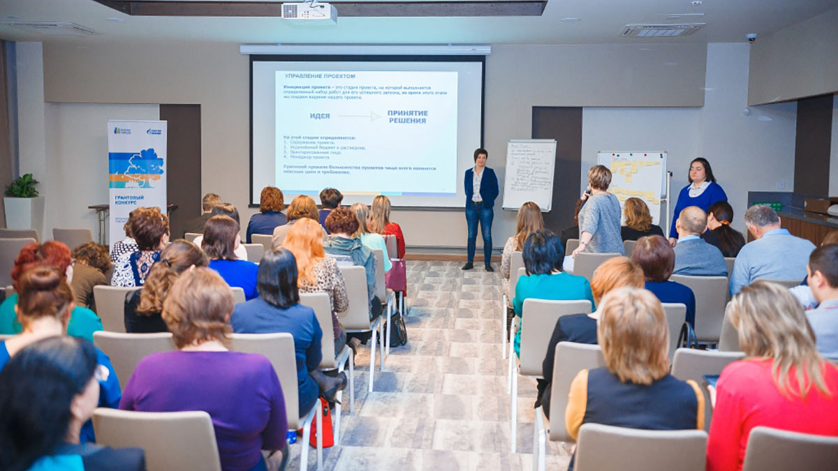 В Оренбурге наградили победителей грантового конкурса