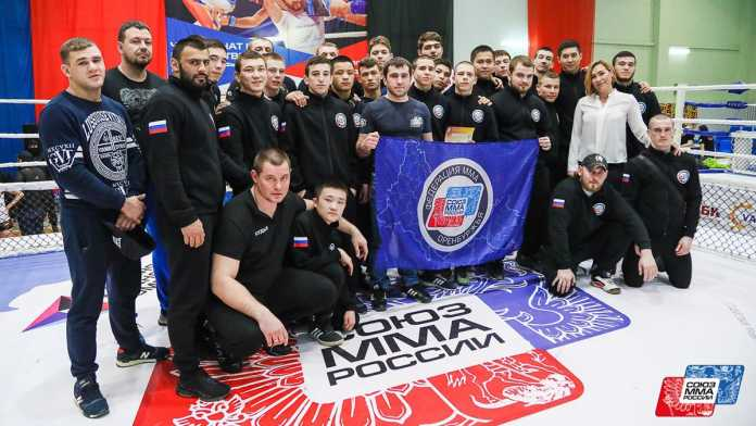 The Orenburg national team took the 2nd place of the championship of the Volga region on MMA