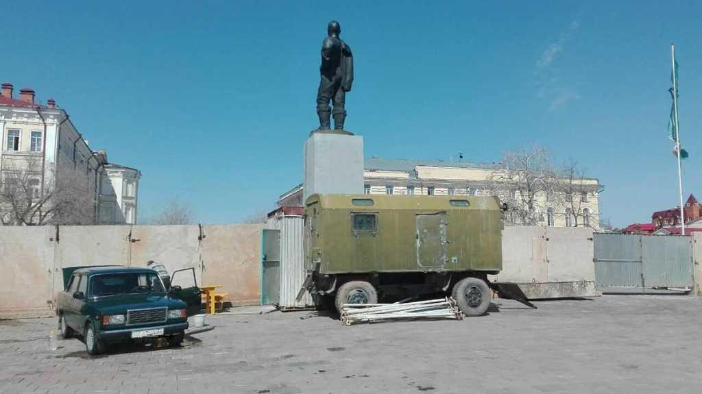 Спуск к Уралу закрыт для проведения работ