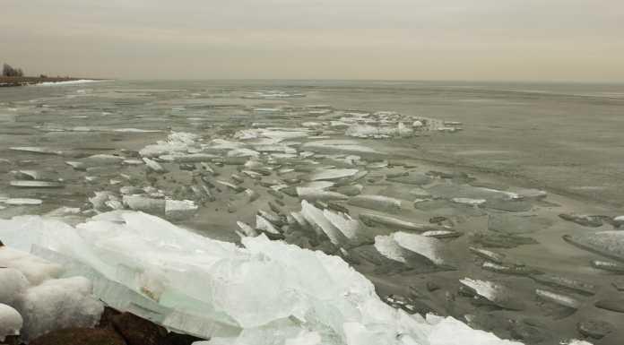 «Зрелищно!»: ледоход на реке Сакмара