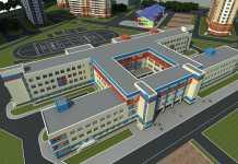 Школа № 89 в 20-м микрорайоне по ул. Ю.Д. Гаранькина
