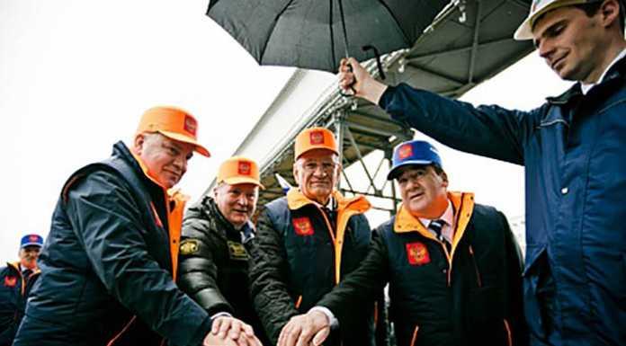 Юрий Берг принял участие в открытии реконструированного элеваторного комплекса
