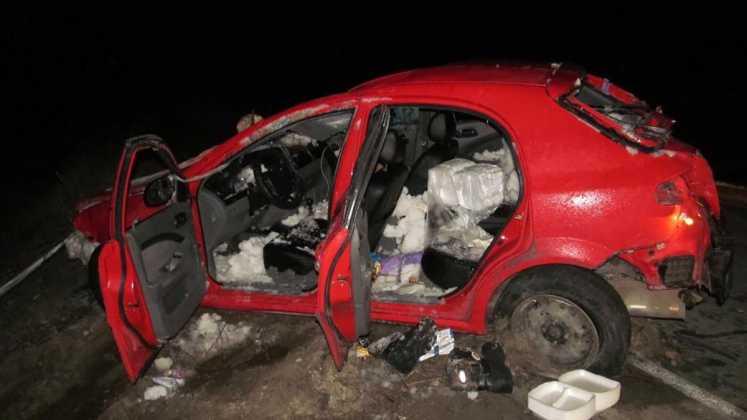Девушка не справилась с управление Chevrolet, погиб пассажир