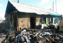 29-летний мужчина поджог дом вместе с мамой