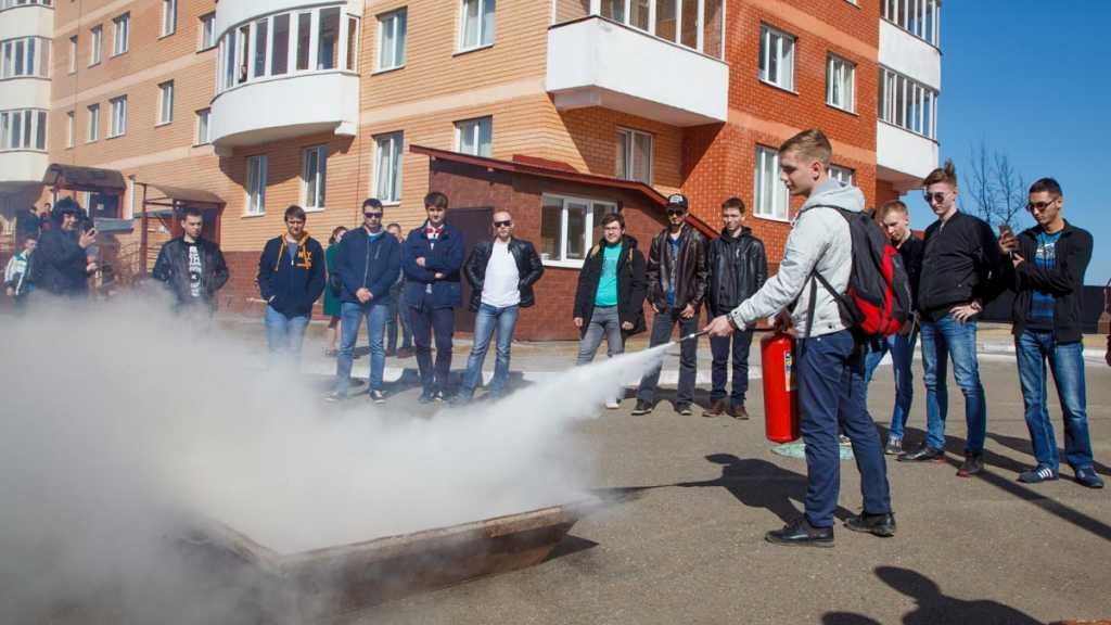 В ОГУ организована добровольная пожарная дружина