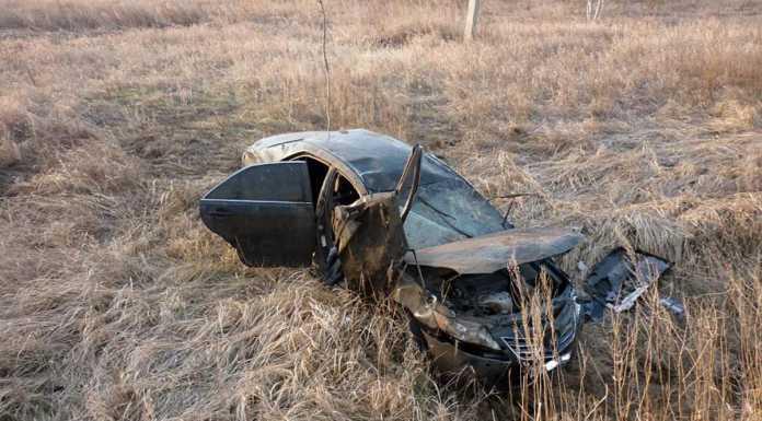 Toyota Camry слетела с трассы, водитель погиб