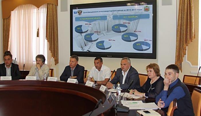 Объем введенного жилья в Оренбуржье увеличился в два раза