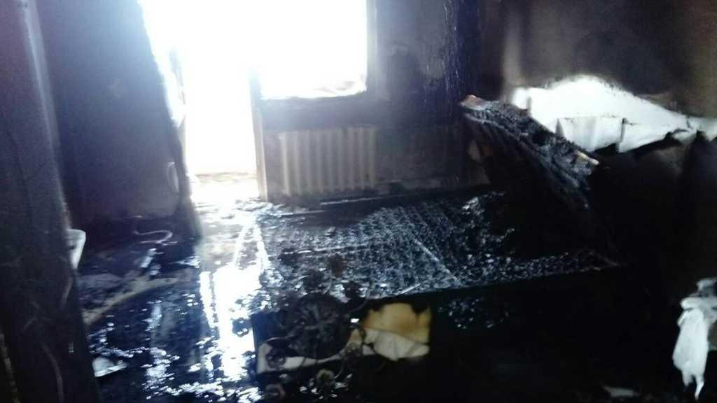 Пожар В ЖК «Grande Famille 2»
