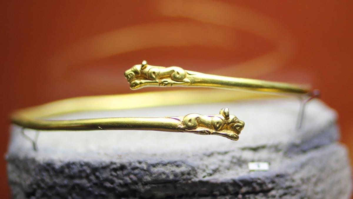 Уникальная коллекция сарматского золота