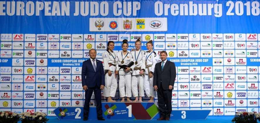 В Оренбурге завершился IХ Кубок Европы по дзюдо