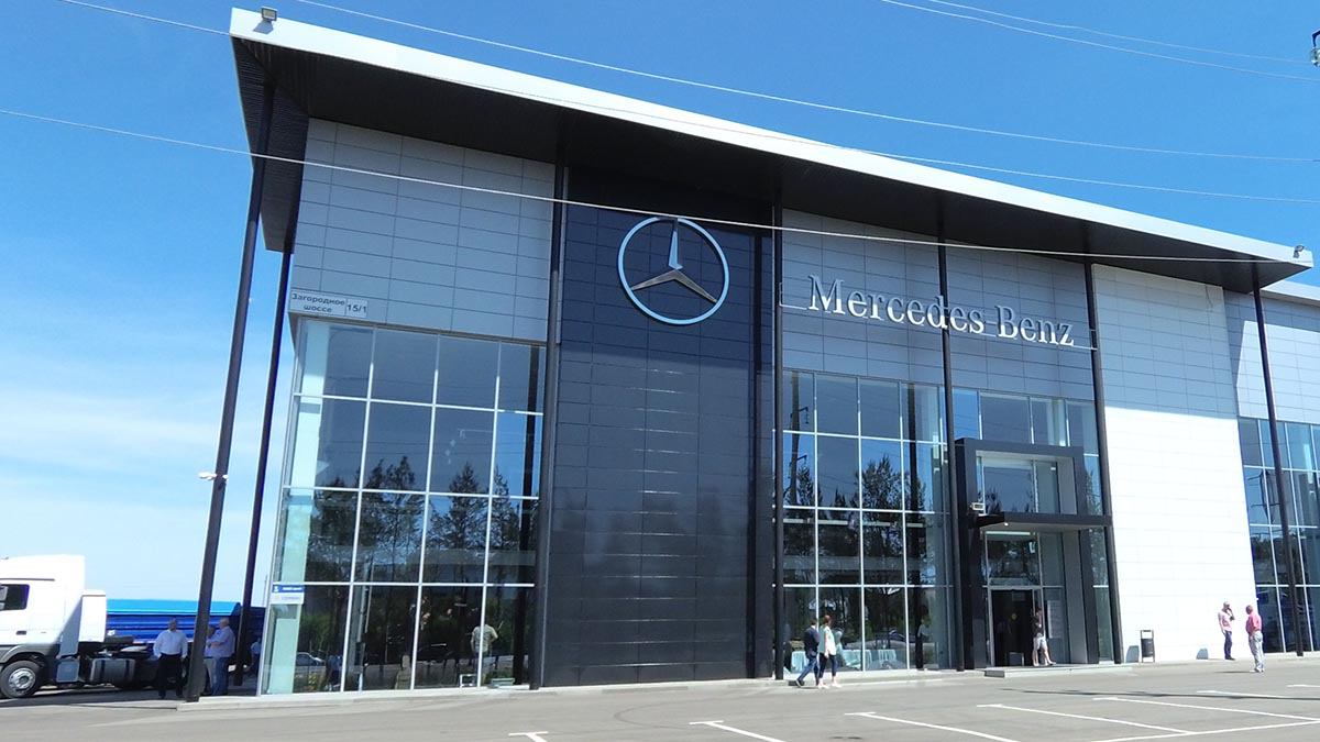 Mercedes-Benz в Оренбурге
