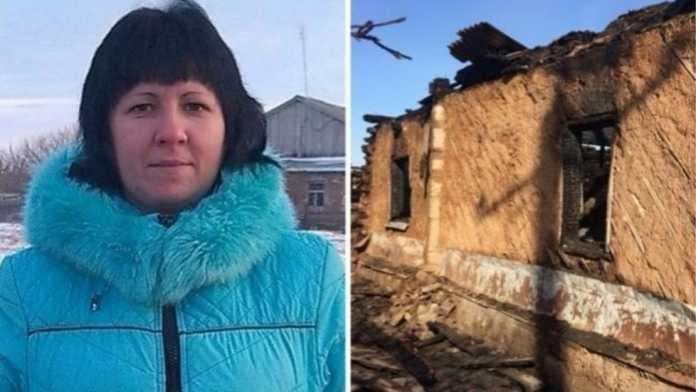 Мать, детей сгоревших в огне будут судить