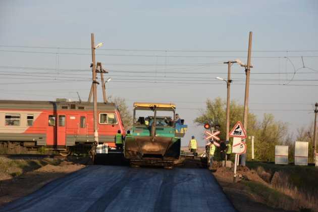 Ремонт автодороги в поселок Нижнесакмарский