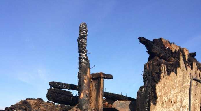 В результате пожара в Октябрьском районе погибли две девочки