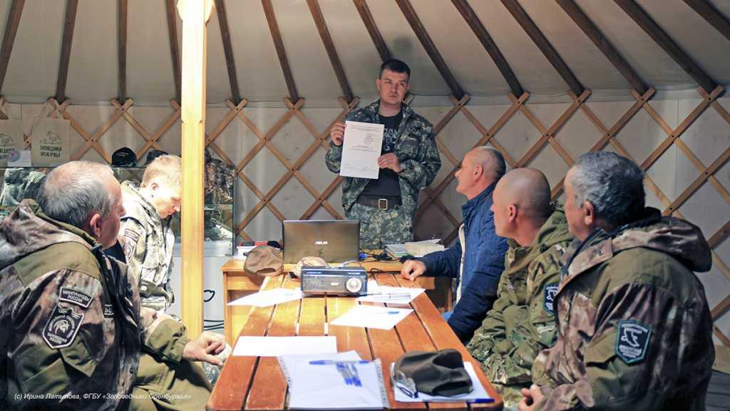 Тренинг для инспекторов провели в оренбургской степи