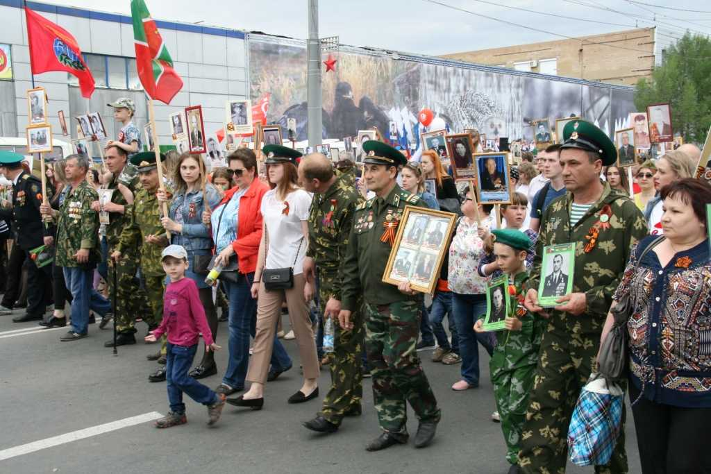 40 тысяч человек прошли в колонне «Бессмертного полка»
