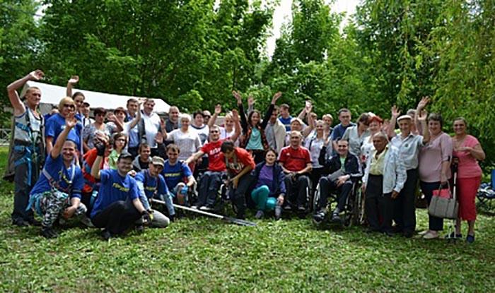 Фестиваль по туризму для инвалидов